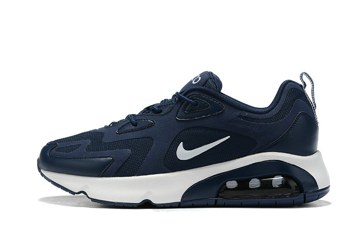 2019 Where To Buy Cheap Nike Air Max 200 Deep Blue AQ2568-010 On VaporMaxRunning