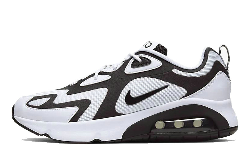 2019 Where To Buy Cheap Nike Air Max 200 White Black AQ2568-104 On VaporMaxRunning