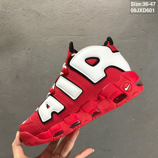 2019 Where To Buy Cheap Nike Air More Uptempo University Red CD9402-600 On VaporMaxRunning