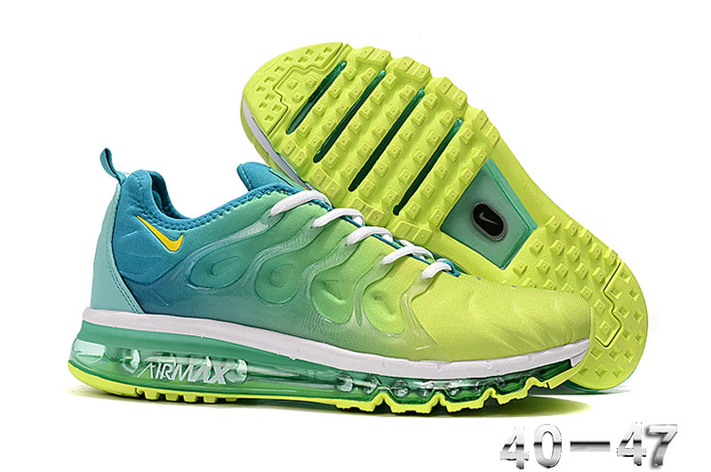 2019 Where To Buy Cheap Nike Air VaporMax Plus Running Jade Green Fluorescent Green White On VaporMaxRunning