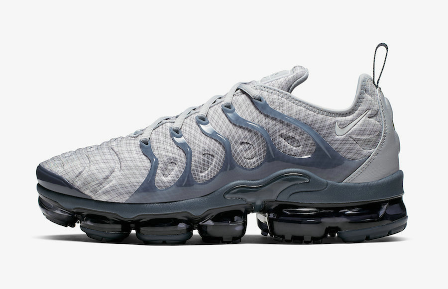 2019 Where To Buy Cheap Nike Air VaporMax Plus Wolf Grey White-Dark Grey-Team Orange 924453-019 On VaporMaxRunning