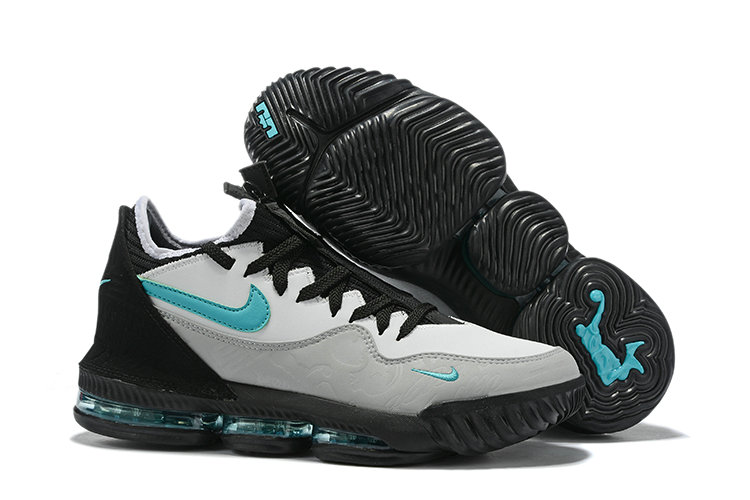 2019 Where To Buy Cheap Nike Atmos x LeBron 16 Low Clear Jade Black Wolf Grey On VaporMaxRunning