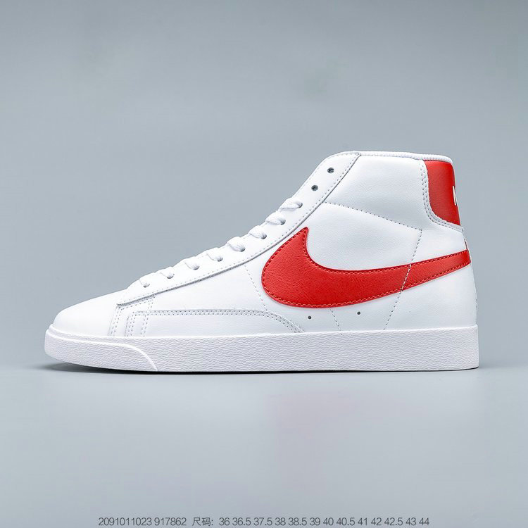 2019 Where To Buy Cheap Nike Blazer Mid Vintage Suede White Habanero Red 917862-109 On VaporMaxRunning