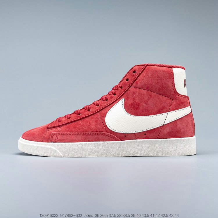 2019 Where To Buy Cheap Nike Blazer Mid Vntg Suede Speed Red Sail Sail Black 917862-602 On VaporMaxRunning