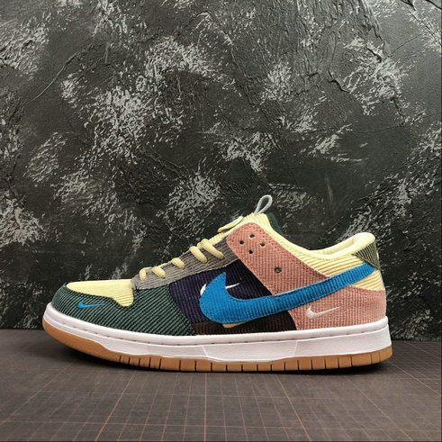 2019 Where To Buy Cheap Nike SB Zoom Dunk High Pro Beige Yellow Orange Purple Blue Jaune Violet 854866-201 On VaporMaxRunning