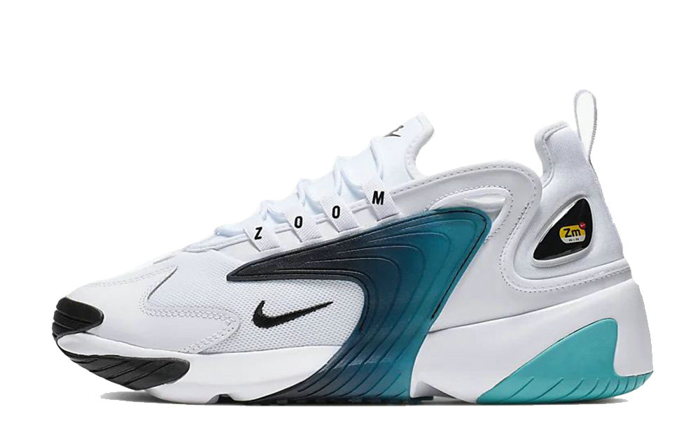 2019 Where To Buy Cheap Nike Zoom 2K White Black Teal Nebula AO0269-106 On VaporMaxRunning