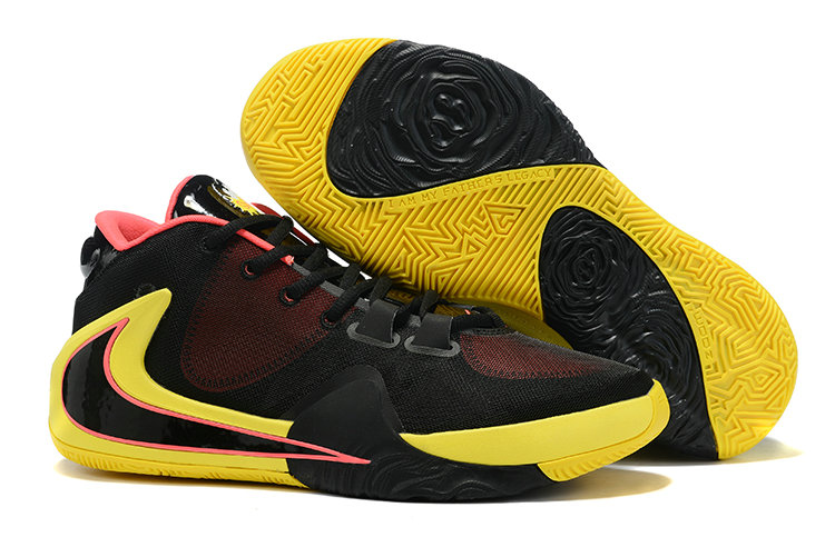 2019 Where To Buy Kids Cheap Nike Zoom Freak 1 Yellow Black Hyper Pink On VaporMaxRunning