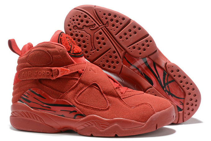 Where To Buy 2020 Air Jordan 8 Valentines Day Gym Red Ember Glow-Team Red AQ2449-614 On VaporMaxRunning