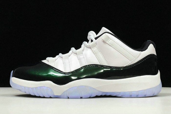 Where To Buy 2020 Cheap Air Jordan 11 Retro Low Emerald 528895-145 For Sale On VaporMaxRunning