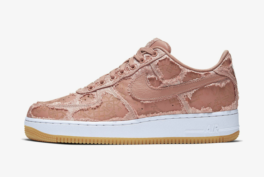 2020 Cheap Clot x Nike Air Force 1 PRM Game Royal White-Gum Light Brown CJ5290-400 On VaporMaxRunning