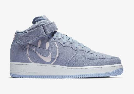 2020 Cheap Nike Air Force 1 Mid Have a Nike Day Indigo Fog Pink Foam-White AO2444-400 On VaporMaxRunning