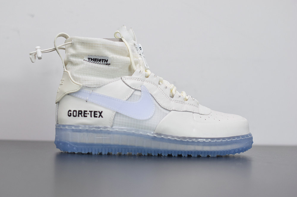 2020 Cheap Nike Air Force 1 Winter GORE-TEX Phantom-Black-Clear Fantome Noir CQ7211-002 On VaporMaxRunning