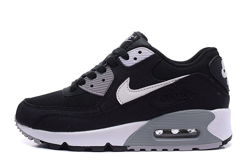 2020 Cheap Nike Air Max 90 Essential Black White Dark Grey Shoes Best Price 537384-032 On VaporMaxRunning