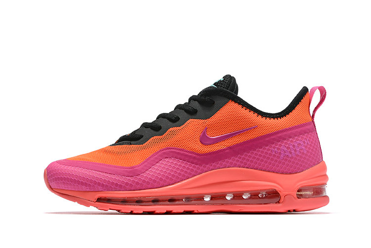 2020 Cheap Nike Air Max 97 Plus Racer Pink Hyper Magenta-Total Crimson-Black AH8143-600 On VaporMaxRunning