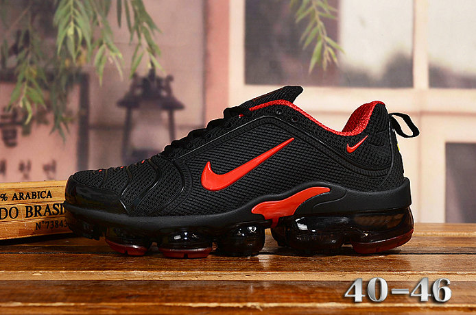 2020 Cheap Nike Air VaporMax Plus Rubber Gym Red Black On VaporMaxRunning