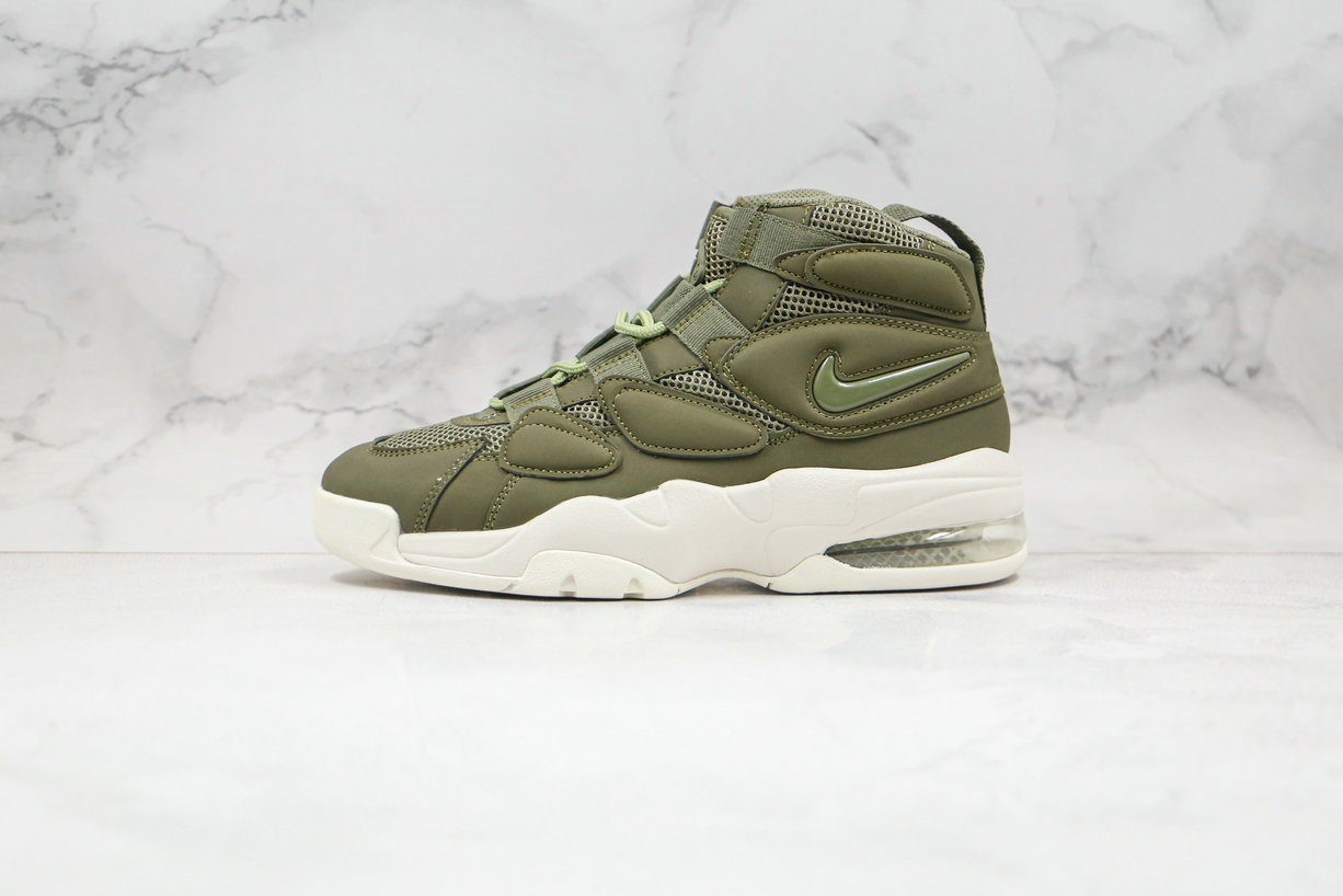 2020 Cheapest Nike Air Max Uptempo 2 Army Green 919831-300 On VaporMaxRunning