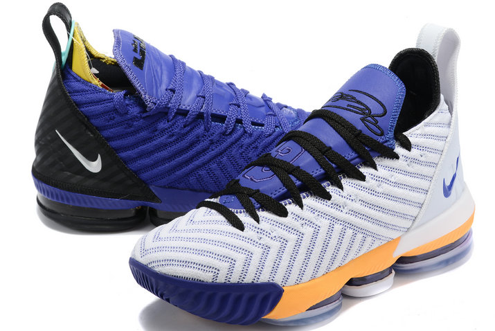 Where To Buy 2020 Nike LeBron 16 Mix And Match Two Colors Mens Size A02588-085 On VaporMaxRunning