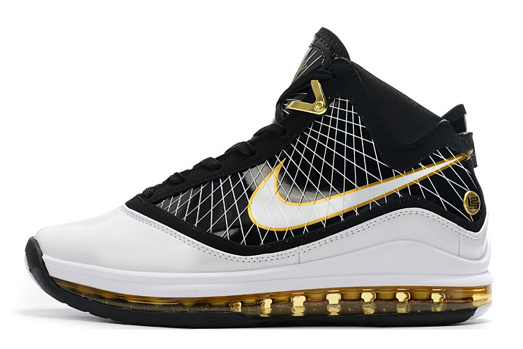 Where To Buy 2020 Nike LeBron 7 Black White Gold For Sale On VaporMaxRunning