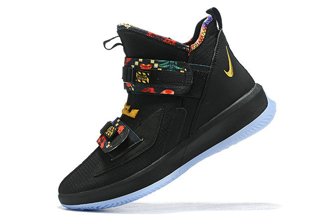 Where To Buy 2020 Nike LeBron Soldier 13 All-Star Black Multi-Color For Sale On VaporMaxRunning