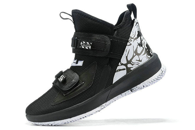 Where To Buy 2020 Nike LeBron Soldier 13 BHM Black White For Sale On VaporMaxRunning