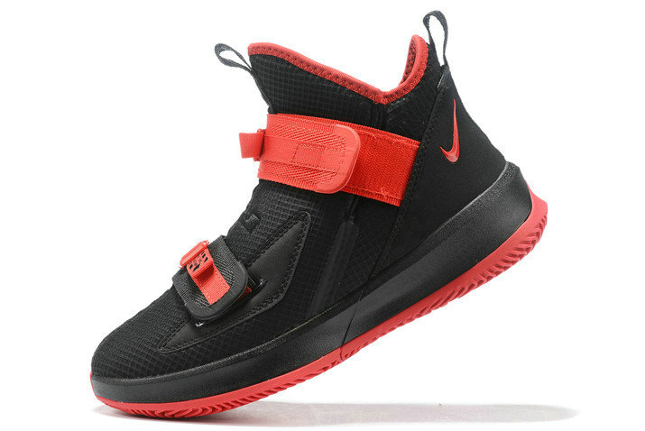 Where To Buy 2020 Nike LeBron Soldier 13 Black Red For Sale On VaporMaxRunning