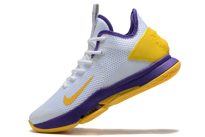 Where To Buy 2020 Nike LeBron Witness 4 IV EP White Purple-Yellow For Sale On VaporMaxRunning