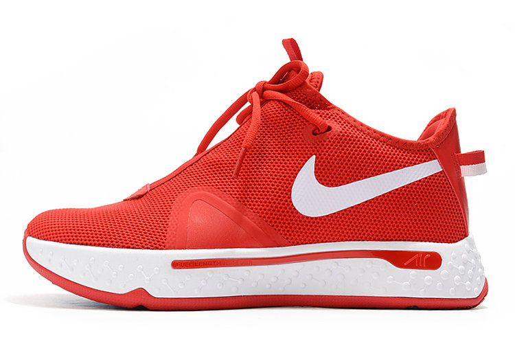 Where To Buy 2020 Nike PG 4 University Red White For Sale On VaporMaxRunning
