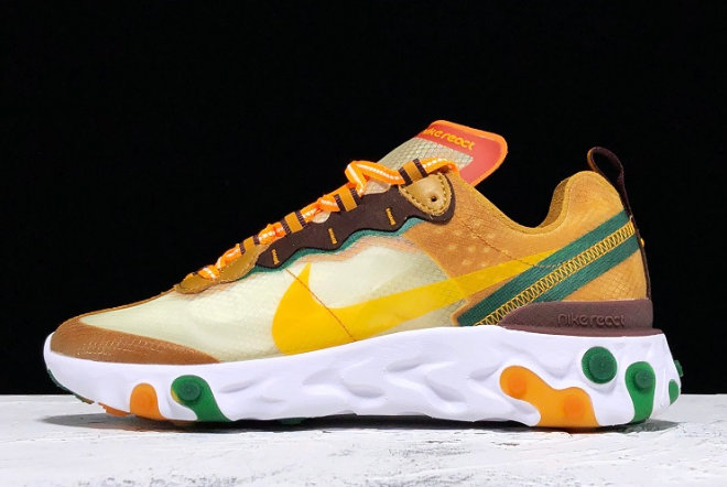 Where To Buy 2020 Nike React Element 87 Pale Ivory CJ6897113 For Cheap On VaporMaxRunning