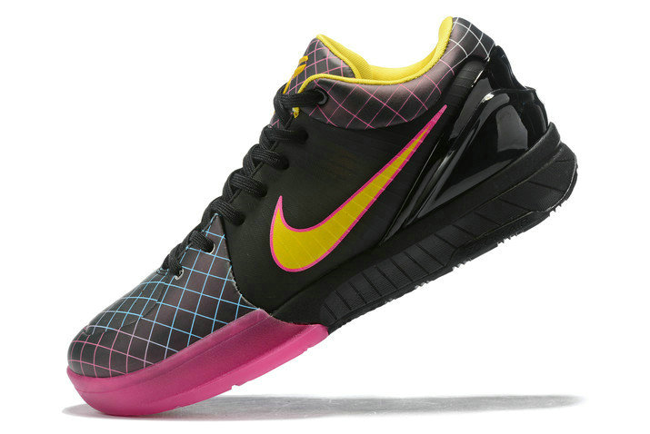 Where To Buy 2020 Undefeated x Nike Kobe 4 Protro Black Pink-Yellow Shoes On VaporMaxRunning