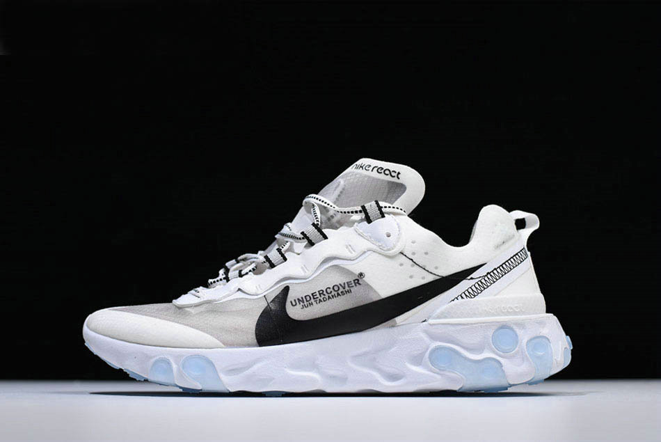 Where To Buy 2020 Undercover x Nike React Element 87 White Grey Black Shoes Free Shipping On VaporMaxRunning