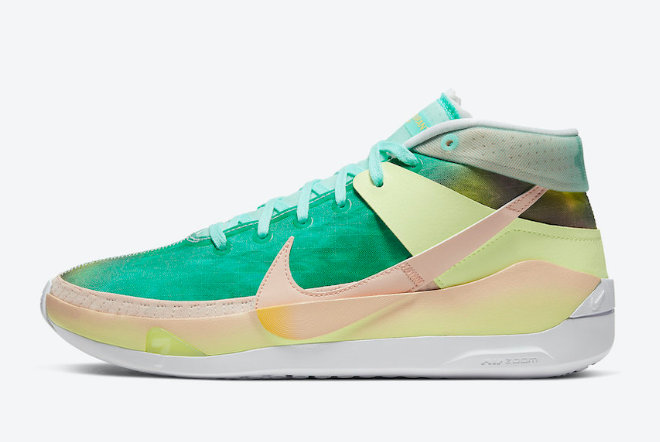 2021 Cheap NIKE KD 13 CHILL BASKETBALL SNEAKERS FOR SALE CI9948-602 On VaporMaxRunning