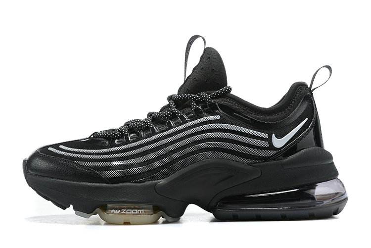 2021 Cheap Nike Air Max ZOOM 950 Black-Black Metallic Silver CJ6700-001 On VaporMaxRunning