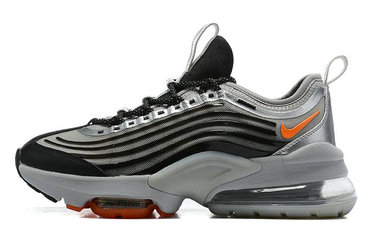2021 Cheap Nike Air Max ZOOM 950 Black Silver Grey Orange On VaporMaxRunning