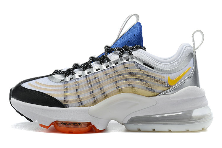 2021 Cheap Nike Air Max ZOOM 950 Gold White Blue Black Orange On VaporMaxRunning