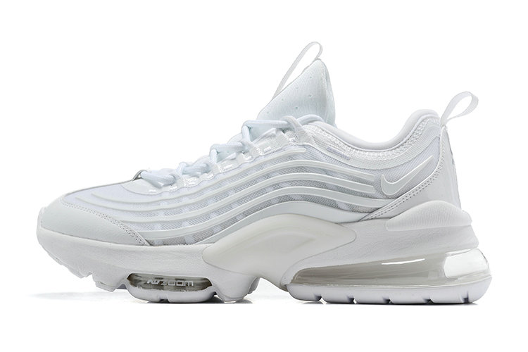 2021 Cheap Nike Air Max ZOOM 950 Triple White On VaporMaxRunning