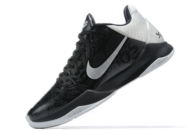 2021 Cheap Nike Kobe 5 Protro Black Metallic Silver On VaporMaxRunning