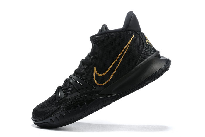2021 Cheap Nike Kyrie 7 Black Metallic On VaporMaxRunning