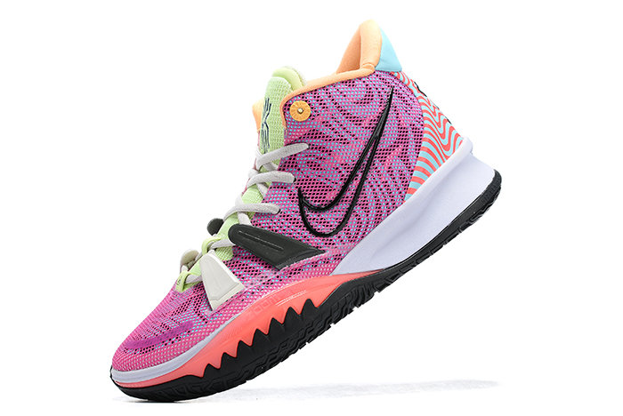 2021 Cheap Nike Kyrie 7 Hendrix DC0588-601 On VaporMaxRunning