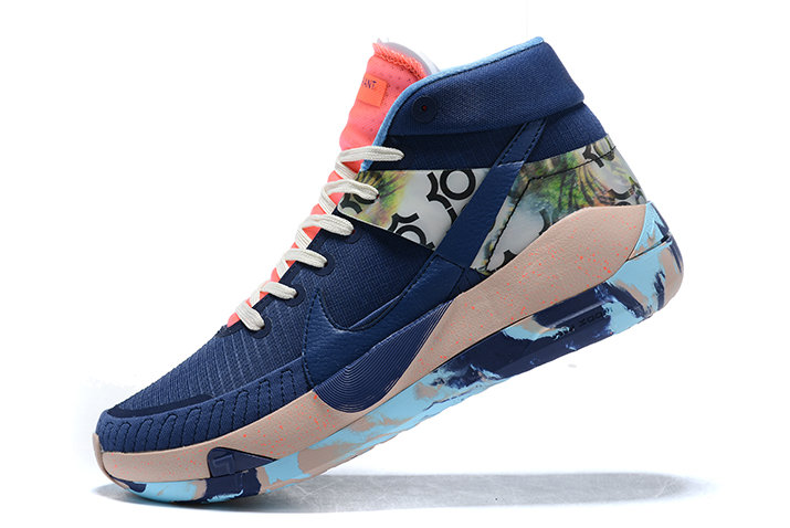 2021 HOT SELL MENS NIKE KD 13 MIDNIGHT NAVY PINK-BLUE SNEAKERS ON SALE On VaporMaxRunning