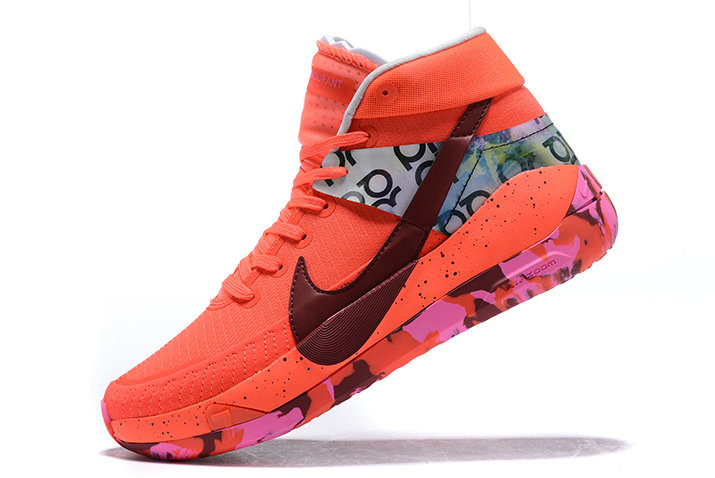 2021 NEWNESS NIKE KD 13 RED MULTI-COLOR RUNNING SHOES On VaporMaxRunning