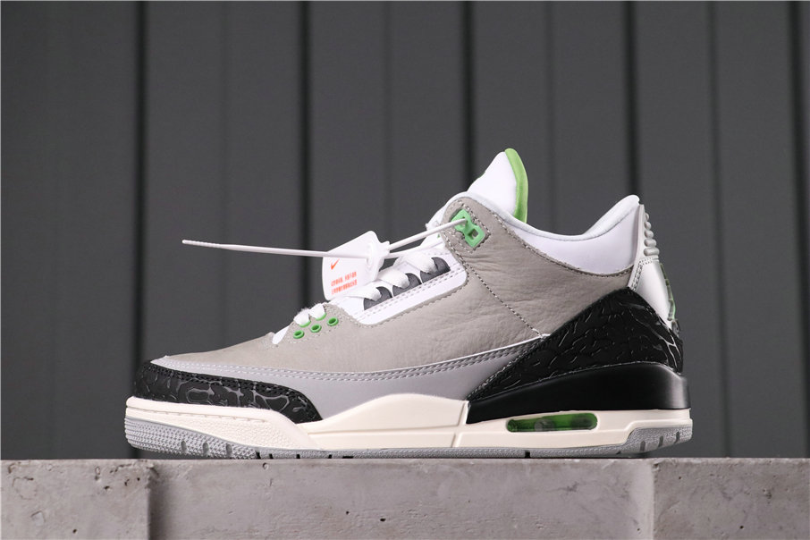 2021 Where To Buy Cheap Air Jordan 3 Chlorophyll Tinker 136064-006 On VaporMaxRunning