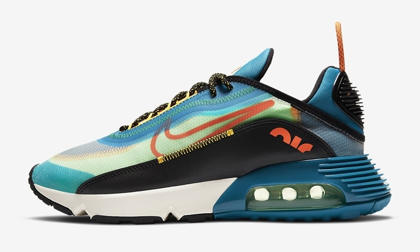 2021 Where To Buy Cheap NIKE AIR MAX 2090 Green Abyss Illusion Green CZ7867-300 On VaporMaxRunning