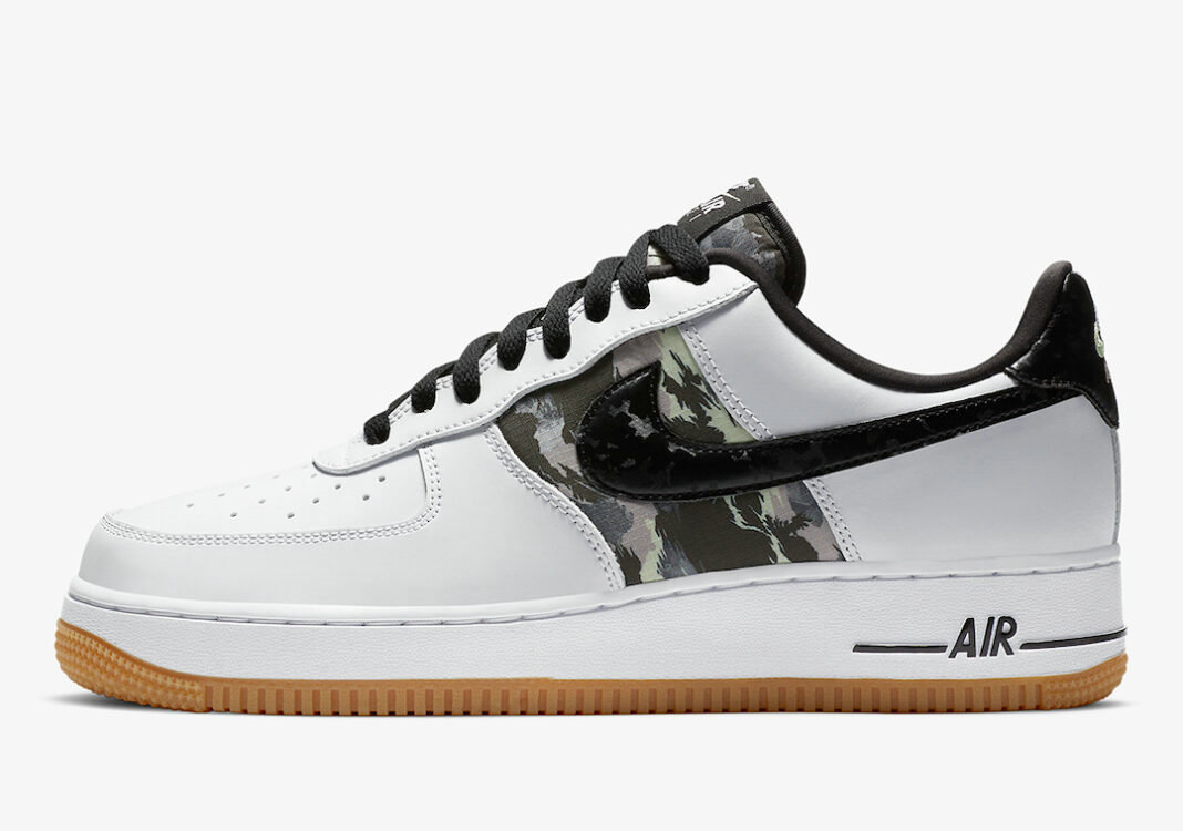 2021 Where To Buy Cheap Nike Air Force 1 Low White Camo CZ7891-100 On VaporMaxRunning