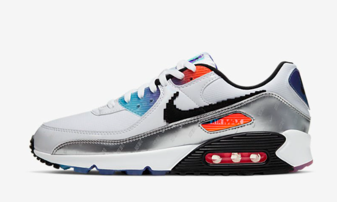 2021 Where To Buy Cheap Nike Air Max 90 have A Good Game DC0835-101 On VaporMaxRunning