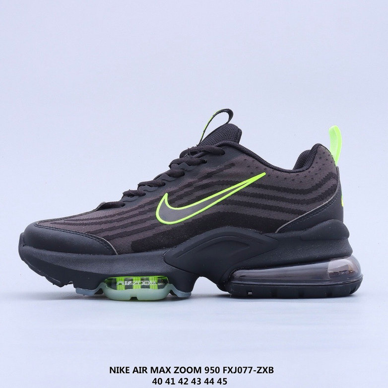 2021 Where To Buy Cheap Nike Air Max 950 Green Black On VaporMaxRunning