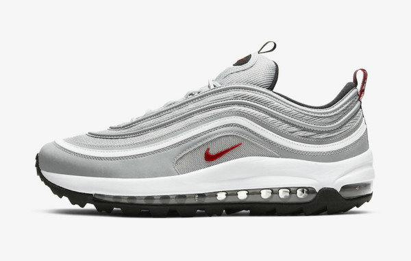 2021 Where To Buy Cheap Nike Air Max 97 Golf Silver Bullet CI7538-001 On VaporMaxRunning