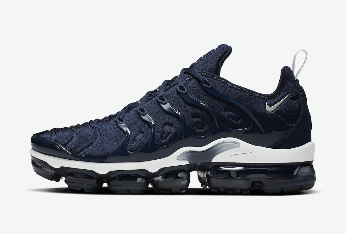 2021 Where To Buy Cheap Nike Air VaporMax Plus Surfaces in Midnight Navy DH0611-400 On VaporMaxRunning