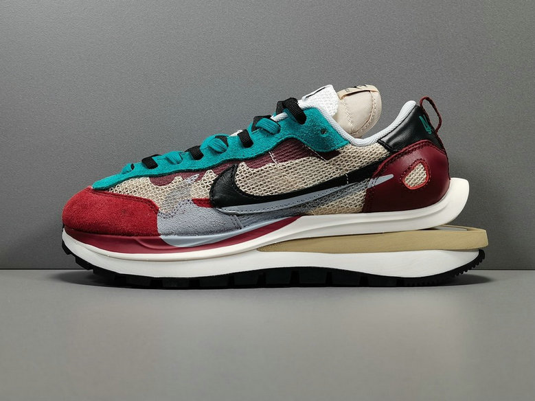 2021 Where To Buy Cheap Sacai X Nike regasus vaporrly SP Wine Red Green CV1363-101 On VaporMaxRunning