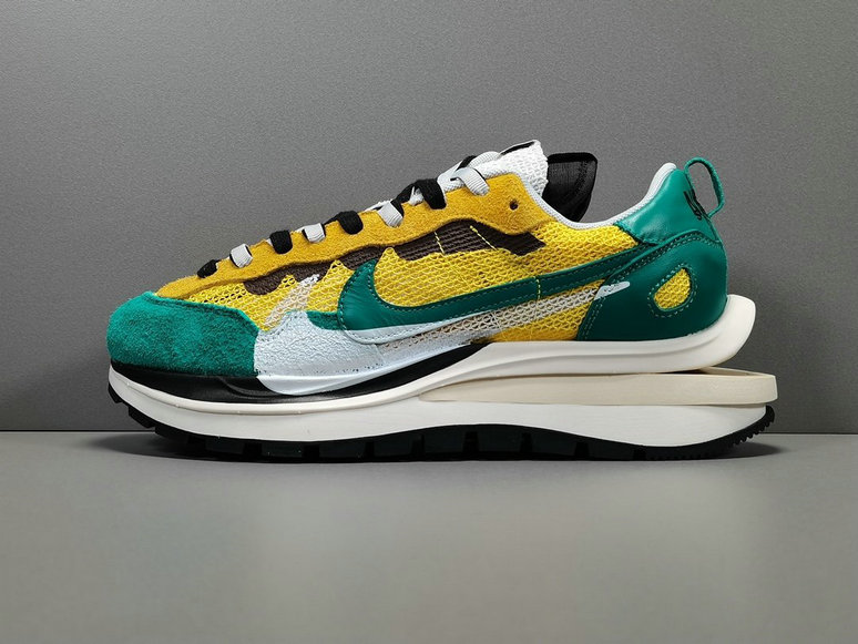 2021 Where To Buy Cheap Sacai x Nike Pegasua Vaporfly Yellow Green CI9928-300 On VaporMaxRunning