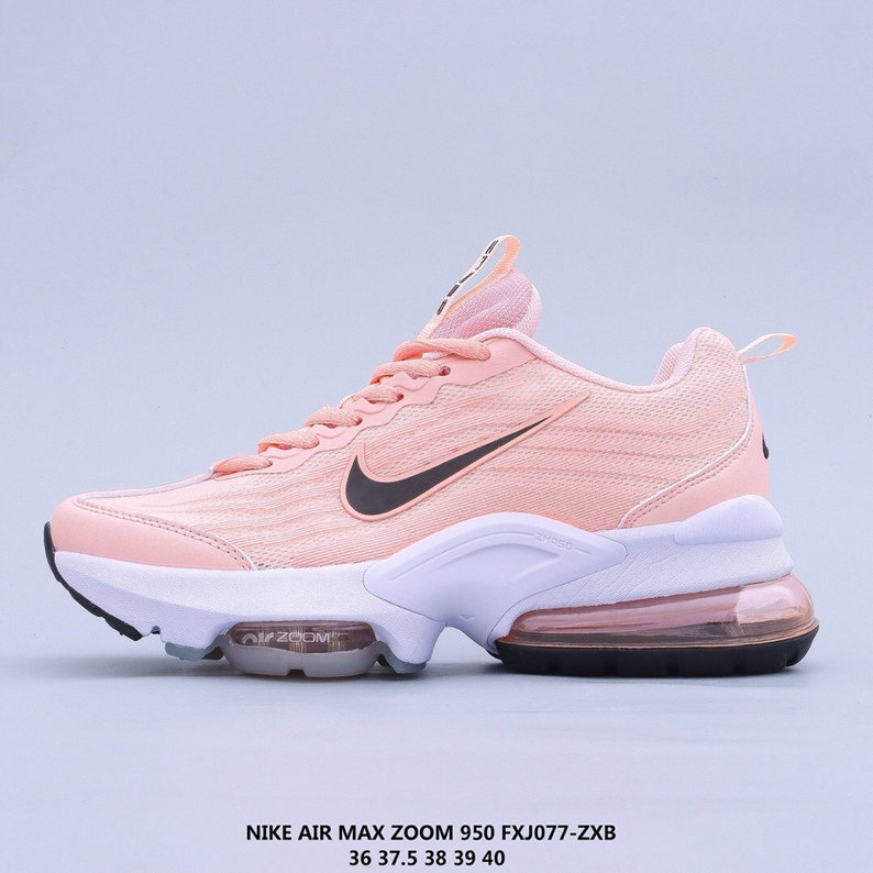 2021 Where To Buy Cheap Womens Nike Air Max 950 Pink Black White On VaporMaxRunning
